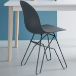 Connubia Calligaris Academy Chair Angular Leg